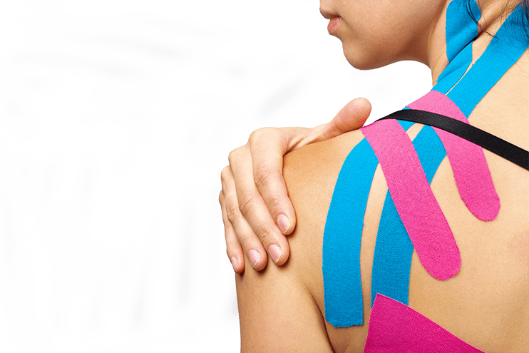 Kinesiotaping at Optimum Wellness Centers - Image