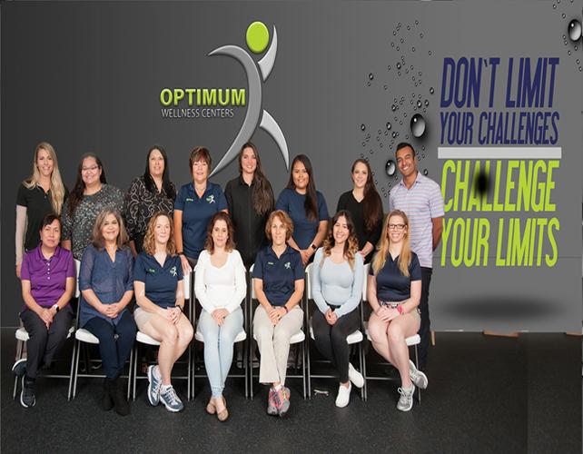 Optimum Wellness Centers Team Picture
